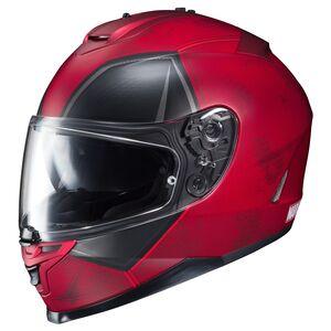 HJC IS-17 Deadpool Helmet Red / MD [Open Box]