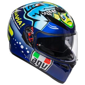 AGV K3 SV Rossi Misano 2015 Helmet MS [Blemished - Very Good]