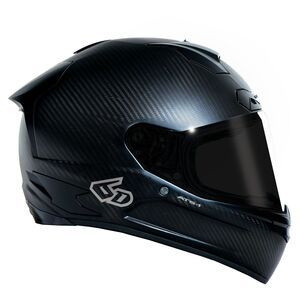 6D ATS-1 Helmet Matte Carbon / SM [Incomplete]