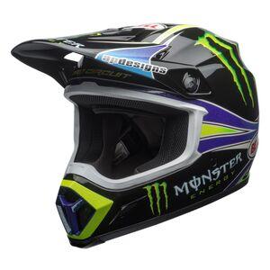 Bell MX-9 MIPS Pro Circuit Replica 2018 Helmet Black/Green / 2XL [Open Box]
