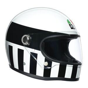 AGV X3000 Invictus Helmet White/Black / ML [Blemished - Very Good]