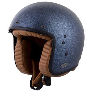 Scorpion Belfast Helmet - Closeout Matte Metallic Blue / MD [Open Box]