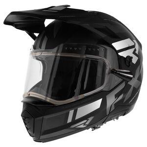 FXR Maverick Snow Helmet - Electric Shield Black/White / 2XL [Demo - Good]
