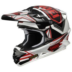 Shoei VFX-W Reputation Helmet (Size SM Only) Black/Blue/White / MD [Demo - Good]