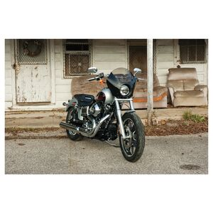 Memphis Shades Gauntlet Fairing For Harley FXDL / Sportster / Street 2011-2020 Black [Previously Installed]