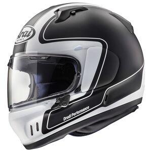 Arai Defiant-X Outline Helmet Black / MD [Blemished - Very Good]