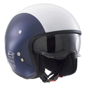 AGV Diesel Hi-Jack Helmet (Size XS Only) Blue/White SK-Y 78 / SM [Blemished - Very Good]