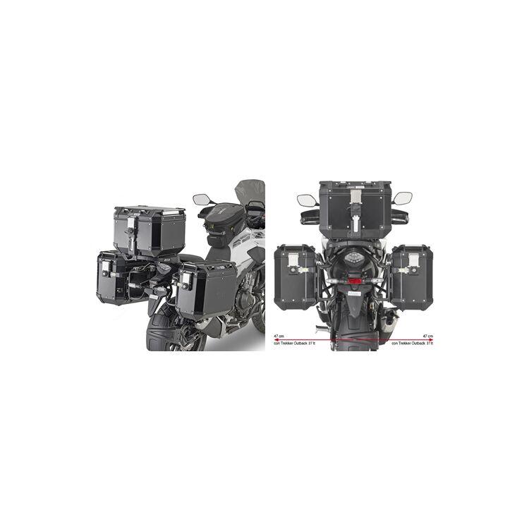 Givi PLO1171CAM Side Case Racks For Trekker Outback Side Cases Honda CB500X 2019-2021