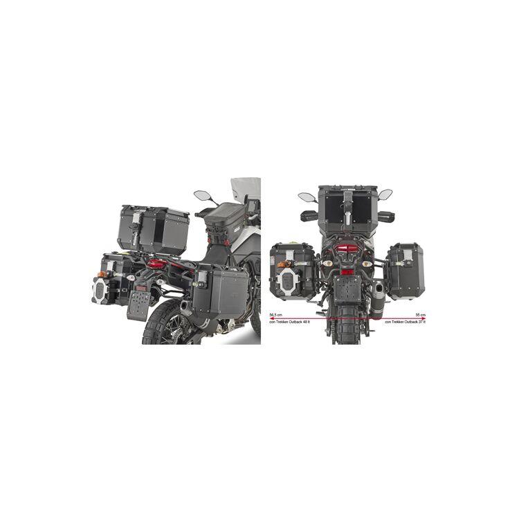 Givi PLO2145CAM Side Case Racks For Trekker Outback Side Cases Yamaha Tenere 700 2021