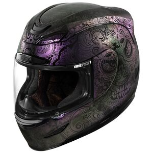 Icon Airmada Chantilly Opal Helmet Opal / MD [Blemished - Very Good]