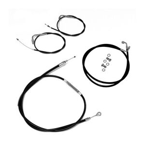 "Baron Extended Cable Kit For Yamaha Bolt 2014 4"" Over Stock / Black [Open Box]"