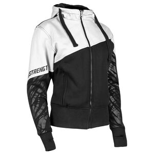 Speed and Strength Cat Outta Hell Women's Armored Hoody White/Grey / LG [Blemished - Very Good]