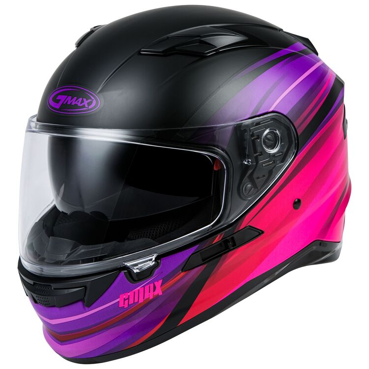 Matte Black/Purple/Red