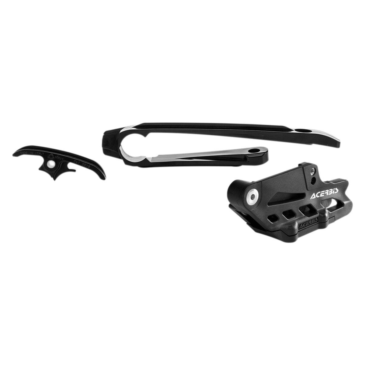 Acerbis Chain Guide And Slider Kit Black Husqvarna Ktm Chain Slider Kit