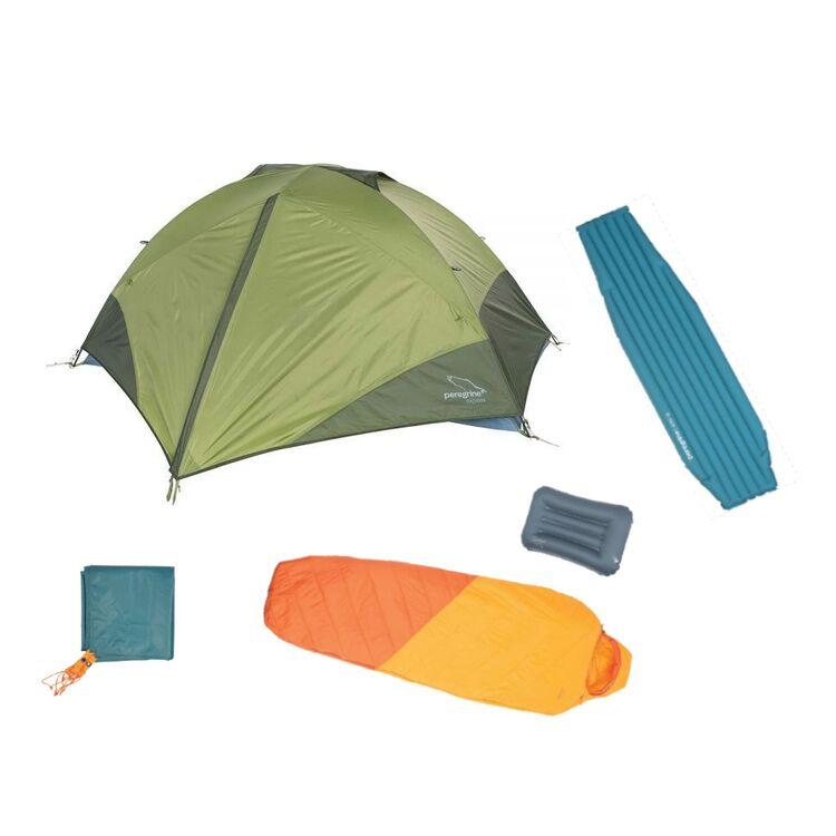 Peregrine Minimalist Camping Kit: Tent / Sleeping Bag / Pad / Pillow