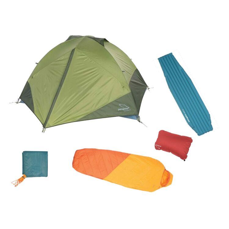 Peregrine Happy Medium Camping Kit: Tent / Sleeping Bag / Pad / Pillow