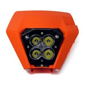Baja Designs XL Pro LED Headlight Kit With Shell KTM EXC / EXC-F / XC / XC-W / TPI 2017-2020