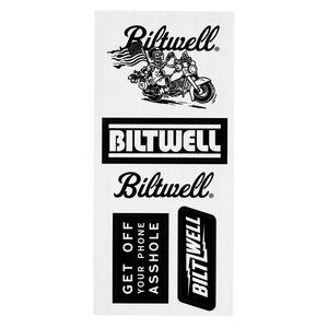 """Biltwell """"B"""" Sticker Sheet"""