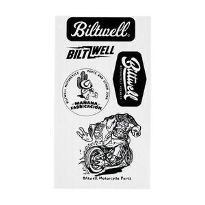 """Biltwell """"A"""" Sticker Sheet"""