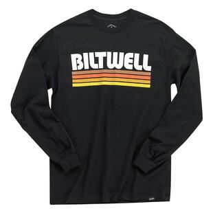 BILTWELL CURSIVE T-SHIRT BLACK **BRAND NEW /& IN STOCK**
