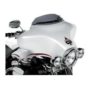 """Klock Werks Flare Windshield For Harley Touring 1996-2013 Dark Smoke / 6 1/2"""" Tall [Previously Installed]"""