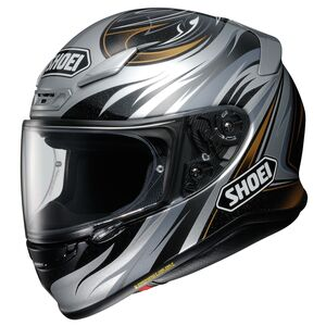 Shoei RF-1200 Incision Helmet Grey/Black/Gold / LG [Open Box]