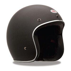 Bell Custom 500 Carbon Helmet Matte Black / 2XL [Demo - Good]
