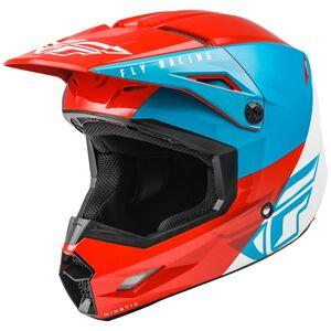 Fly Racing Dirt Kinetic Straight Edge Helmet