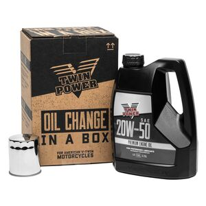 Twin Power Quick-Change Oil Kit For Harley Evo 1984-2020