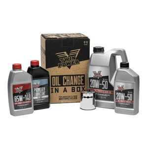 Twin Power Synthetic Oil Change-In-A-Box For Harley