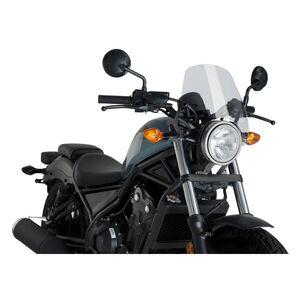 Puig Naked New Generation Windscreen Honda Rebel 300 / 500 2017-2021