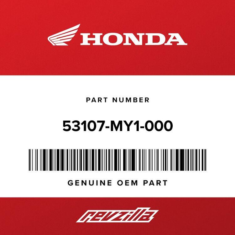 Honda RUBBER B, HANDLE WEIGHT 53107-MY1-000 [Open Box]