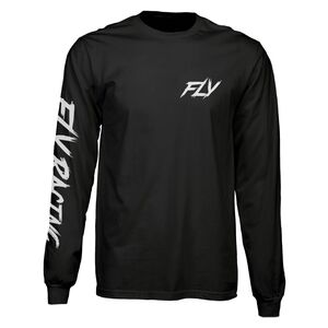 Fly Racing Corporate Long Sleeve T-Shirt MX Moto Casual Tee Shirt