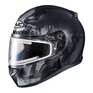 HJC CL-17 Arica Snow Helmet - Electric Shield (SM) Matte Black/Grey / SM [Blemished - Very Good]