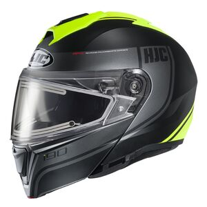 HJC i90 Davan Snow Helmet - Electric Lens
