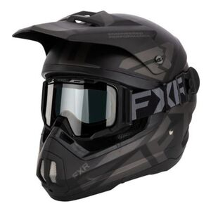 FXR Torque Team Cold Stop Helmet With Goggles