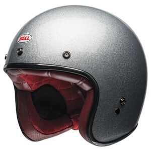 Bell Custom 500 Helmet - Solids Silver Flake / XS [Blemished - Very Good]