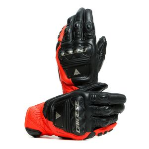 Dainese 4 Stroke 2 Gloves Black/Fluo Red / SM [Blemished - Very Good]
