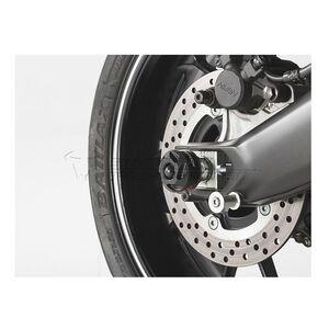 SW-MOTECH Rear Axle Sliders Yamaha FZ-09 / MT-09 2017-2020 Black [Open Box]