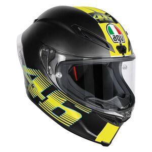 AGV Corsa R V46 Helmet (2XL) Matte Black / LG [Open Box]