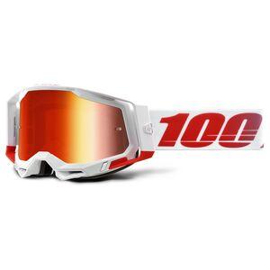 100% Racecraft 2 Goggles - Mirrored Lens