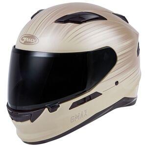 GMax FF98 Derk Helmet White/Tan / MD [Blemished - Very Good]
