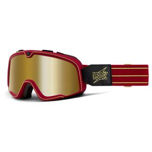 100% Barstow Cartier Goggles - Mirrored Lens