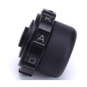 Kaoko Throttle Lock For 14mm Handlebars With Barkbusters Black [Blemished - Very Good]