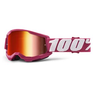 100% Youth Strata 2 Goggles - Mirrored Lens
