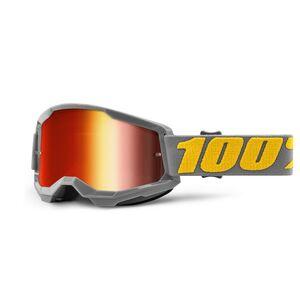 100% Strata 2 Goggles - Mirrored Lens