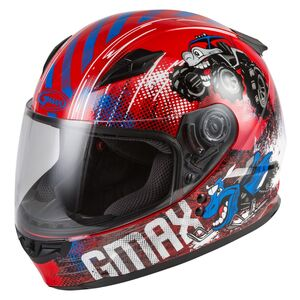 GMax Youth GM49Y Beasts Helmet