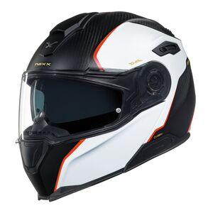 Nexx X-Vilitur Carbon Hyper-X Helmet White/Black/Red / 2XL [Blemished - Very Good]