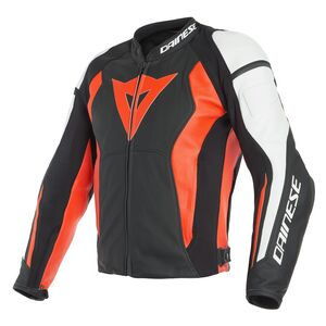 Dainese Nexus Jacket Black/Fluo Red/White / 52 [Blemished - Very Good]