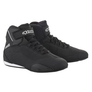 Alpinestars Sektor Vented Shoes Black / 9.5 [Demo - Good]